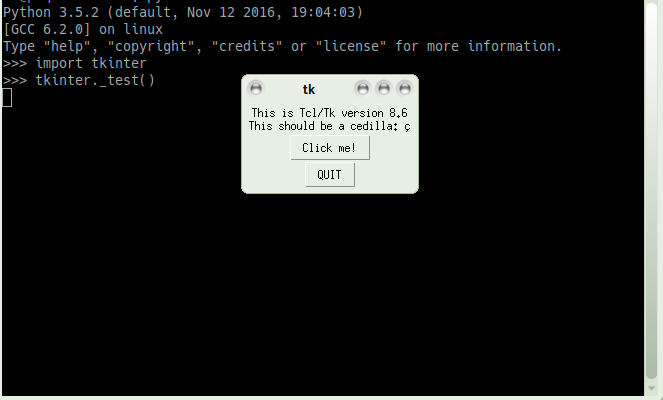 ⚓ T3830 python3-tkinter: tkinter _test() fails